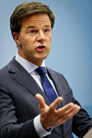 Liberal Prime Minister Mark Rutte. Photo: Getty Images