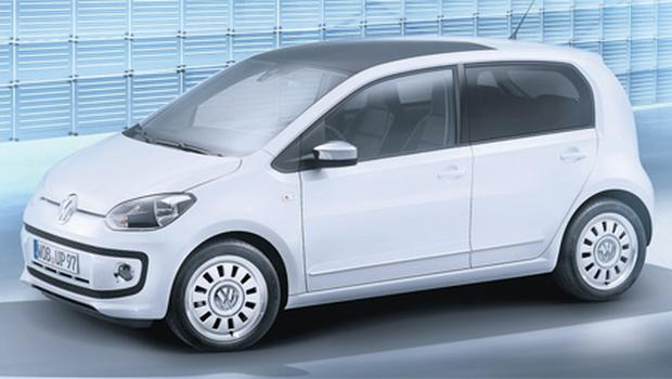 Volkswagen expects the fivedoor up! to be a bigger seller than the three-door version