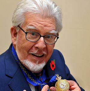 Rolf Harris was proud to receive the Officer of the Order of Australia