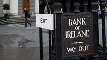 Bank of Ireland shares fell more than 20pc in a matter of hours after the news, to hit the all-time low of just 14 cent each. Photo: Getty Images