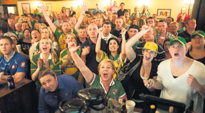 It was a quare sight to see hundreds of GAA fans slurping out of coffee cups on the morning of an All-Ireland Final, particularly when it was one that involved their county.