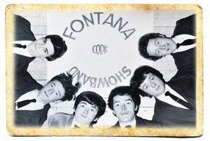 Rory Gallagher (third from left) in shots taken with his Fontana Showband in the 1960s.