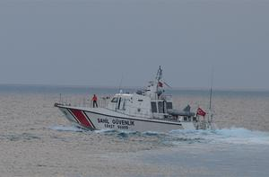 Turkish coast guard searches for the Turkish warplane which was downed by Syria on Friday. Photo: AP