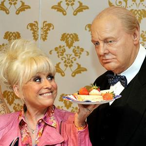 The former EastEnders actress picked Sir Winston Churchill as one of her favourite guests for the lunch