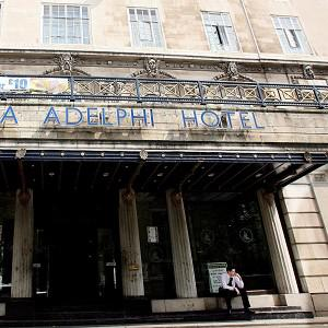 A tour guide claimed that Martin Luther King Jnr's 'I have a dream' speech was penned in Liverpool's Adelphi Hotel
