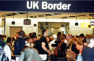 Passengers arriving at Heathrow face lengthy waits at immigration desks. Photo: PA