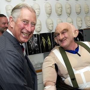 The Prince of Wales met with some Hobbit cast members