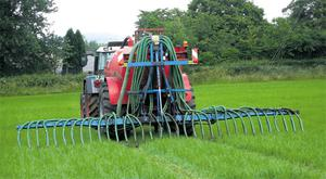 Spreading in spring costs nothing extra, whereas improving the method increases the cost of spreading