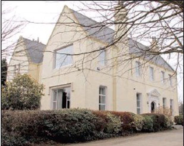 ■ The Bishop's Palace in Summerhill, Wexford.