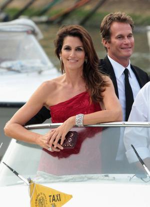 VENICE, ITALY - AUGUST 31: Rande Gerber and Cindy Crawford attends the 68th Venice Film Festival on August 31, 2011 in Venice, Italy.  (Photo by Danny Martindale/FilmMagic)