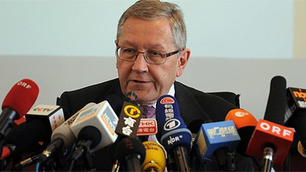 Head of the European Financial Stability Facility Klaus Regling