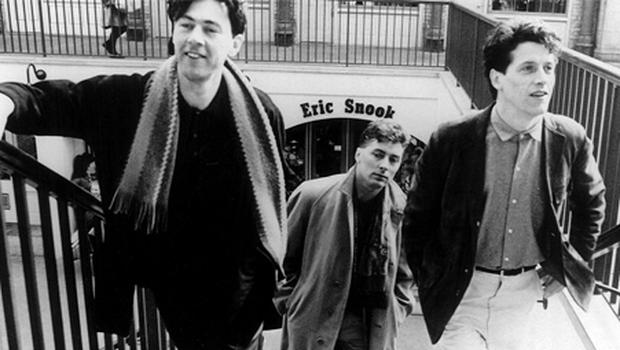 Way back when... The Blue Nile, left to right, Robert Bell, PJ Moore and Paul Buchanan in their prime