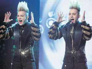 the dynamic duo Jedward give their winning performance in the national final