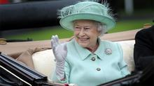 Queen Elizabeth at Ascot Racecourse this week. Photo: PA