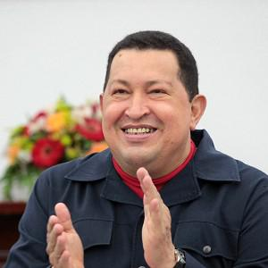 Venezuela's president Hugo Chavez rewarded his three millionth Twitter follower with a new home (AP)