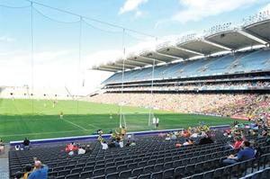 The 2008 All-Ireland semi-final between Cork and Kerry failed to attract the crowds. Photo: Brian Lawless / Sportsfile
