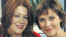 Sheana Keane (right) has lodged a complaint to RTE against her 'Afternoon Show' co-host Blathnaid Ni Chofaigh (left).