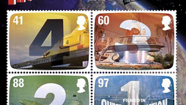 The UK's first motion stamps, FAB: The Genius of Gerry Anderson