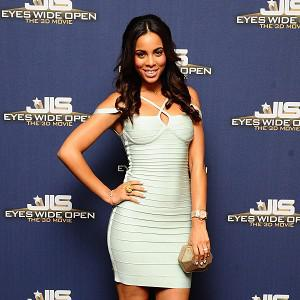 Rochelle Wiseman enjoyed watching the new JLS film in 3D