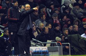 Liverpool's Rafa Benitez gesticulates on the sidelines. Photo: Getty Images