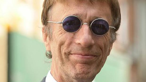 Robin Gibb sings on the album about the sinking of the Titanic