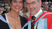 Michaela and Mickey Harte, pictured in 2006