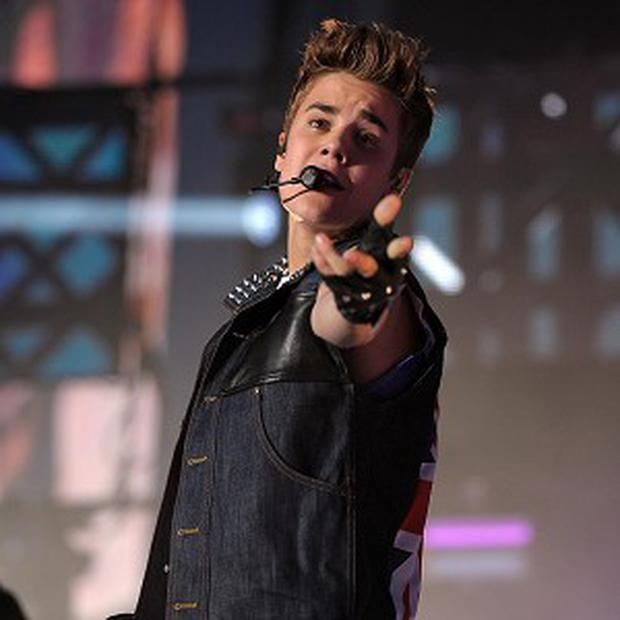 Justin Bieber was joined on stage by Jaden Smith