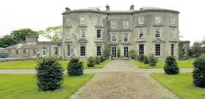 Dr Reilly's stately home in Moneygall, Co Offaly