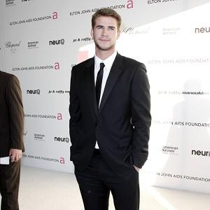 Liam Hemsworth currently stars in The Hunger Games