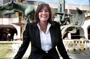 Former chairman Gillian Bowler who has stepped down at the bancassurer