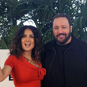 Salma Hayek and Kevin James star in Here Comes The Boom