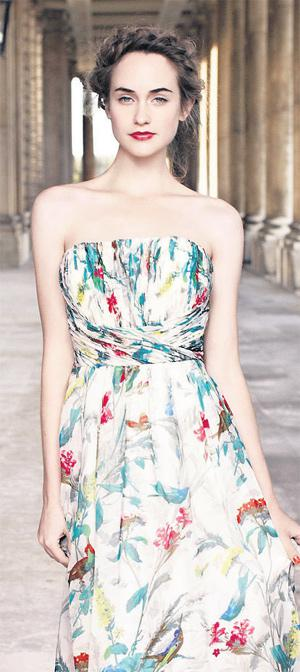 'Cece' strapless maxi, €290, Ted Baker