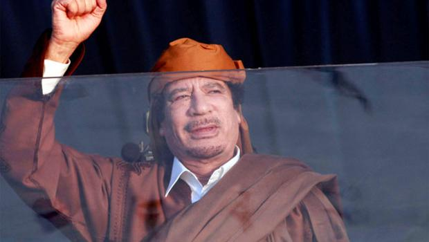 EXPORTING TERRORISM: Gaddafi's regime supplied the IRA with weapons including the explosive Semtex. Photo: Reuters
