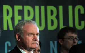 Martin McGuinness. Photo: Getty Images