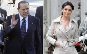 Silvio Berlusconi and Nicole Minetti. Photo: AP