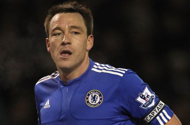 John Terry - nerves of ice Photo: Getty Images