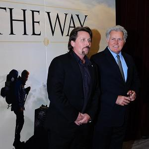 Emilio Estevez and Martin Sheen worked together on The Way