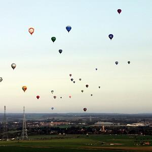 A total of 51 balloonists set off to cross the Channel