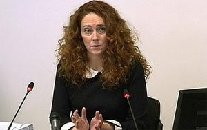 Rebekah Brooks giving evidence at the Leveson inquiry