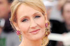 IT'S A MUGGLE'S GAME: JK Rowling is 'giving something back' to the fans. Photo: Ian Gavan