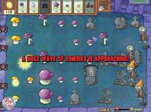 The latest edition of Plants vs Zombies