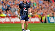 Stephen Cluxton steps up to kick the winning point for Dublin