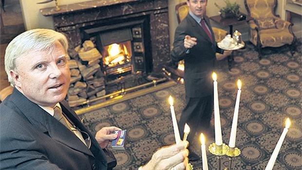 Inside knowledge: Francis (left) and John Brennan at the Park Hotel in Kenmare, Co Kerry