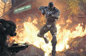 On fire: Crysis 2