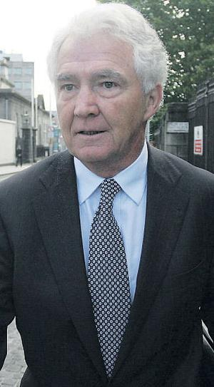 Anglo Irish Bank chief was Sean FitzPatrick  was on the DDDA board when the fateful deal to buy the Irish Glass Bottle site in Ringsend, Dublin