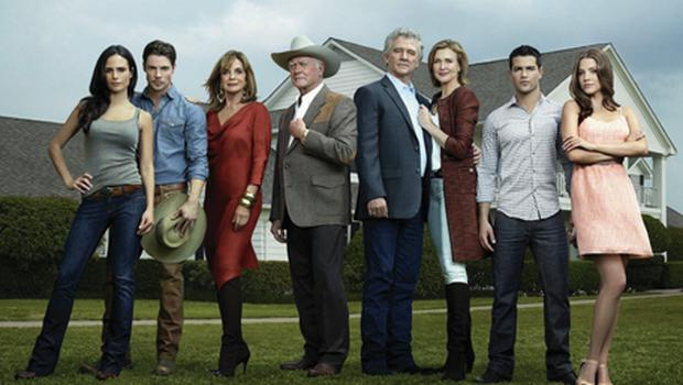 The cast of 'Dallas', which will go out on TV3 in a prime-time slot