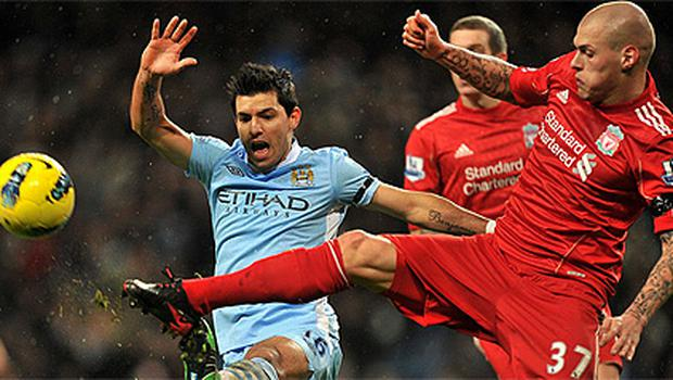 Martin Skrtel, who had a torrid time against Sergio Aguero last week, is hoping for a change of fortunes against Man City tonight