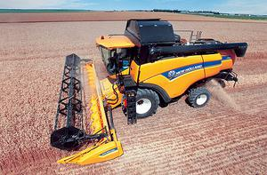 New Holland's cutting-edge CX machines meet latest emissions targets and pack mighty punch