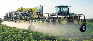 The Raven SmartBoom system is compatible with all John Deere mounted and trailed sprayers, plus competitor machines fitted with the TeeJet 844E controller