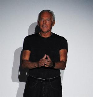 Armani studied medicine at the University of Milan for three year